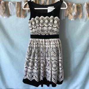 ModCloth Geode Every Gilded Moment Velvet Dress